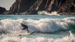 Surfen in Arrifana, surfen