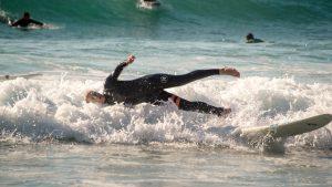 Surfen in Arrifana, Wipeout