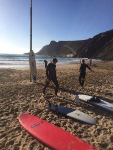 Surfen in Arrifana