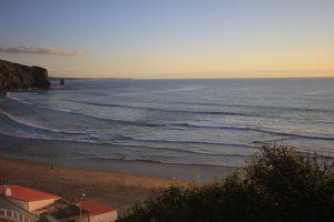 Wellen Arrifana, Surfen Arrifana, Arrifana Sunset,Surftrip nach Portugal