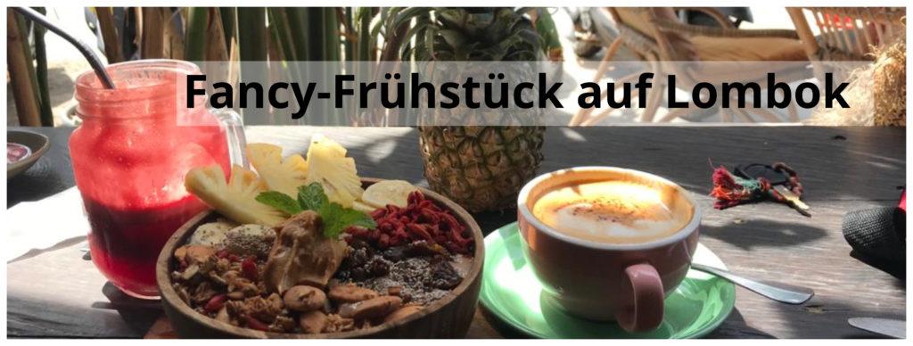 Fancy Frühstück Lombok im Milk Espresso